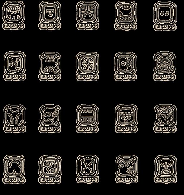 Symboles Maya